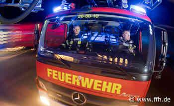 Brand in Fahrzeughalle in Seligenstadt - HIT RADIO FFH
