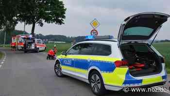 67-jähriger Kradfahrer in Melle von Auto erfasst - NOZ