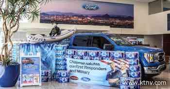 Ford Motor Company, Cowabunga Bay partner for water drive - KTNV Las Vegas