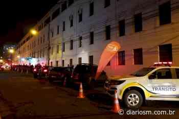Balada Segura aborda veículos na Rua Silva Jardim, no Bairro Nossa Senhora do Rosário - Diário de Santa Maria