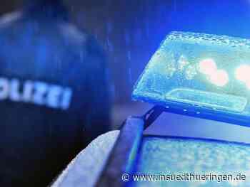 Polizei-Einsatz - Kinder mit Fernseher und Steinen aus Fenster beworfen - inSüdthüringen