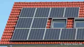 CDU Witten fordert mehr Photovoltaik auf Dächern und Flächen - Westdeutsche Allgemeine Zeitung