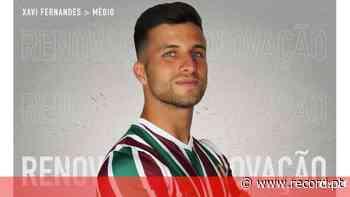Xavier Fernandes renova por duas épocas com o Estrela da Amadora - Record