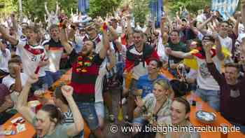 Wenig Public Viewing im Kreis Ludwigsburg geplant: Corona verhindert viele EM-Partys - Bietigheimer Zeitung