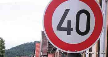 Wieder Tempo 50 statt 40 in Ochsenbach - Ludwigsburger Kreiszeitung