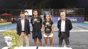 Javier Molino y María Dolores López, campeones del IBP Tenis del Corpus, en Granada - Industria del Tenis