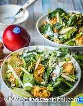 Ensalada verde Waldorf con manzanas Marlene, un plato muy apetecible para este verano - Periodista Digital