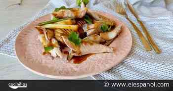 Caballa al vapor con patatas Hasselback, un plato perfecto para verano - El Español