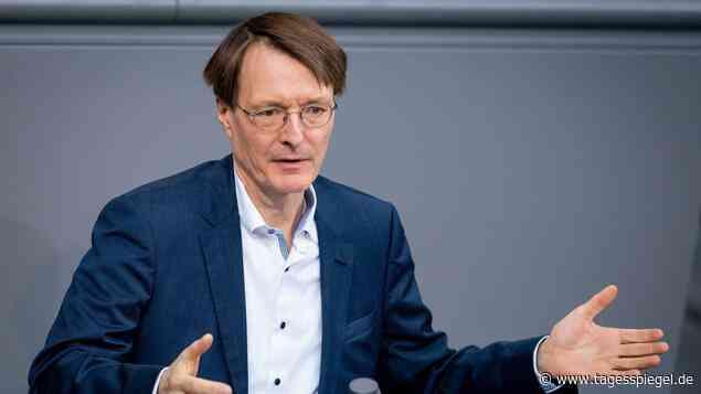 Könnte sofort losgehen: Lauterbach sieht in Großveranstaltungen kein Problem mehr - Tagesspiegel