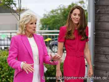 First Lady Jill Biden - Erstes Treffen mit Herzogin Kate - Stuttgarter Nachrichten
