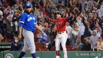 Blue Jays concede 5 unanswered runs to drop series opener against Red Sox