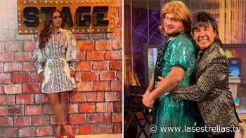 """Paul Stanley impacta al transformarse en mujer y Galilea Montijo lo llama: """"Loba"""" - Las Estrellas TV"""