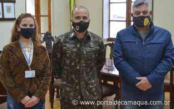 Poder Executivo de Lavras do Sul busca apoio do Exército Brasileiro para possível manutenção da ERS-473 - Portal de Camaquã