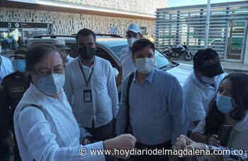 Caicedo recibe a Petro para socializarle proyectos de agua, salud y vías - HOY DIARIO DEL MAGDALENA