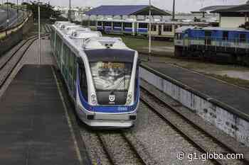 Viagens de trem entre Natal e Parnamirim serão suspensas das 8h às 17h desta sexta (11) - G1
