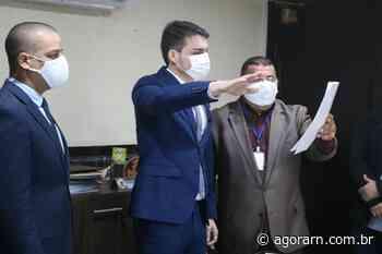 Vereador César Augusto Maia toma posse na Câmara Municipal de Parnamirim - Agora RN