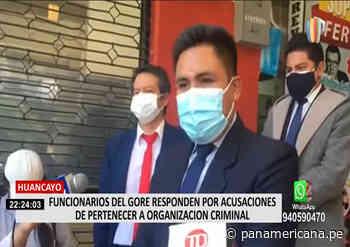 Huancayo: Funcionarios del GORE responden por acusaciones de pertenecer a organización criminal | Panamericana TV - Panamericana Televisión
