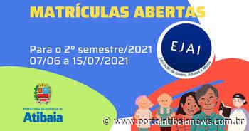 Educação Educação de Jovens, Adultos e Idosos tem matrículas abertas em Atibaia Jovens a partir dos - Redação do Portal Atibaia News