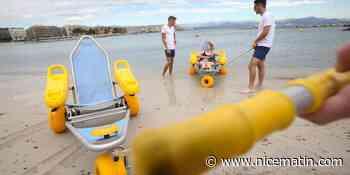 Handiplage de la Salis ouvre ce week-end à Antibes - Nice-Matin