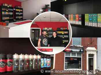 Blackburn mum-of-three overcomes health and money problems by opening new vape shop