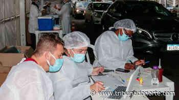 Apucarana registra vacinação em tempo real - Tribuna do Norte