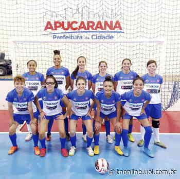 Futsal feminino: Apucarana enfrenta Arapongas neste sábado - TNOnline - TNOnline