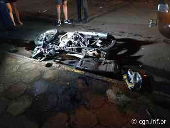 Grave acidente é registrado na Zona Leste de Apucarana - CGN