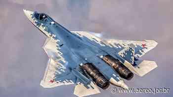 Forças Aeroespaciais Russas receberão dois caças Su-57 de série até o final do ano - Poder Aéreo