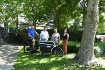 Nieuwe elektrische bakfiets voor technische dienst Ichtegem
