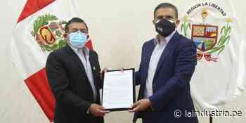 Firman convenio para la compra de planta de oxígeno medicinal en Huamachuco - La Industria.pe