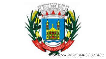 Prefeitura de Cerro Largo - RS realiza novo Processo Seletivo na área da saúde - PCI Concursos