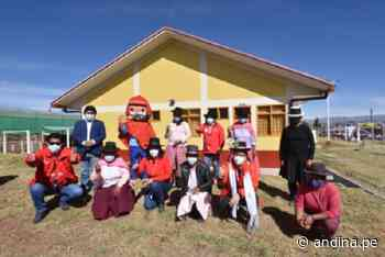 Ministra Vargas inaugura primer tambo Bicentenario en distrito ayacuchano de Chiara - Agencia Andina