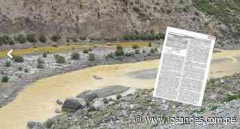 Declaran Islay en estado de emergencia por contaminación del río Tambo por minería - Los Andes Perú