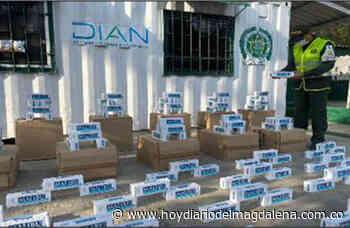 Decomisaron 16 mil cajetillas de cigarrillos de contrabando – HOY DIARIO DEL MAGDALENA - HOY DIARIO DEL MAGDALENA