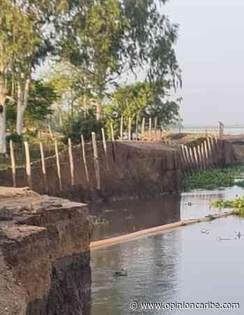 Desde Guáimaro exigen al Gobierno soluciones ante la erosión del río Magdalena - Opinion Caribe