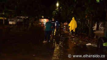 Inundaciones tras larga lluvia en varios sectores de Ciénaga, Magdalena - EL HERALDO