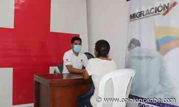 En el Magdalena, Cruz Roja habilita punto de apoyo de Migración para nacionales venezolanos - Opinion Caribe