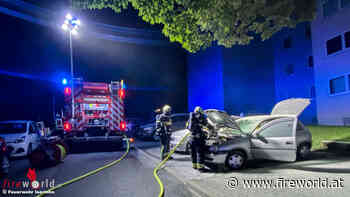 D: Polizei in Iserlohn führt erste Brandbekämpfung an Pkw durch - Fireworld.at