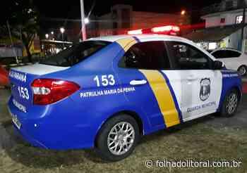 Guarda Municipal de Pontal do Paraná prende homem que bateu na companheira e filho que agrediu a mãe - Folha do Litoral News