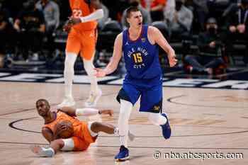 Suns spoil Nikola Jokic's MVP celebration, take 3-0 lead over Nuggets