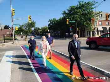 Rainbow crosswalks celebrate diversity and inclusion - Oakville News