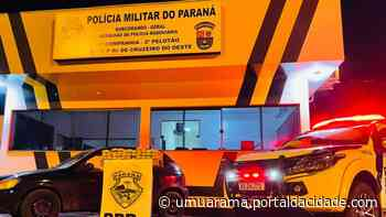 Nesta quinta PRE apreende carro carregado com maconha na PR-323, em Cruzeiro do Oeste 11 - ® Portal da Cidade | Umuarama