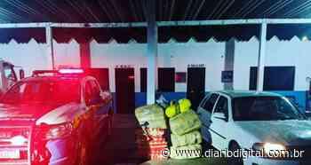Polícia apreende veículo carregado com quase 200 kg de drogas - Diario Digital