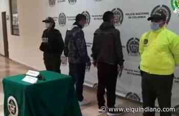 Capturados en Circasia con arma de fuego - El Quindiano S.A.S.