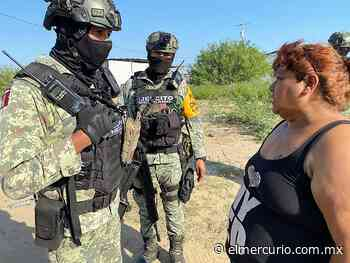 Asedian militares a familiares de víctima de ejecución extrajudicial en Nuevo Laredo - El Mercurio de Tamaulipas