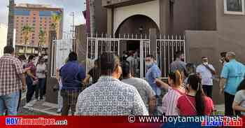 En Nuevo Laredo hacen guardias en el IETAM - Hoy Tamaulipas