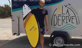 Plouharnel. Une école de surf itinérante sur le parking du Mentor - maville.com