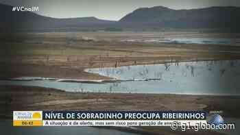 Nível do Lago do Sobradinho diminui e reservatório registra pouco mais de 60% do volume útil: 'Já preocupa' - G1