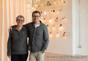 Expanding Herefordshire firm sells lights internationally