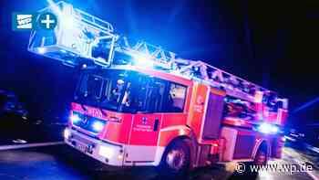 Medebach: Feuerwehr mit Großaufgebot bei Brandeinsatz - Westfalenpost